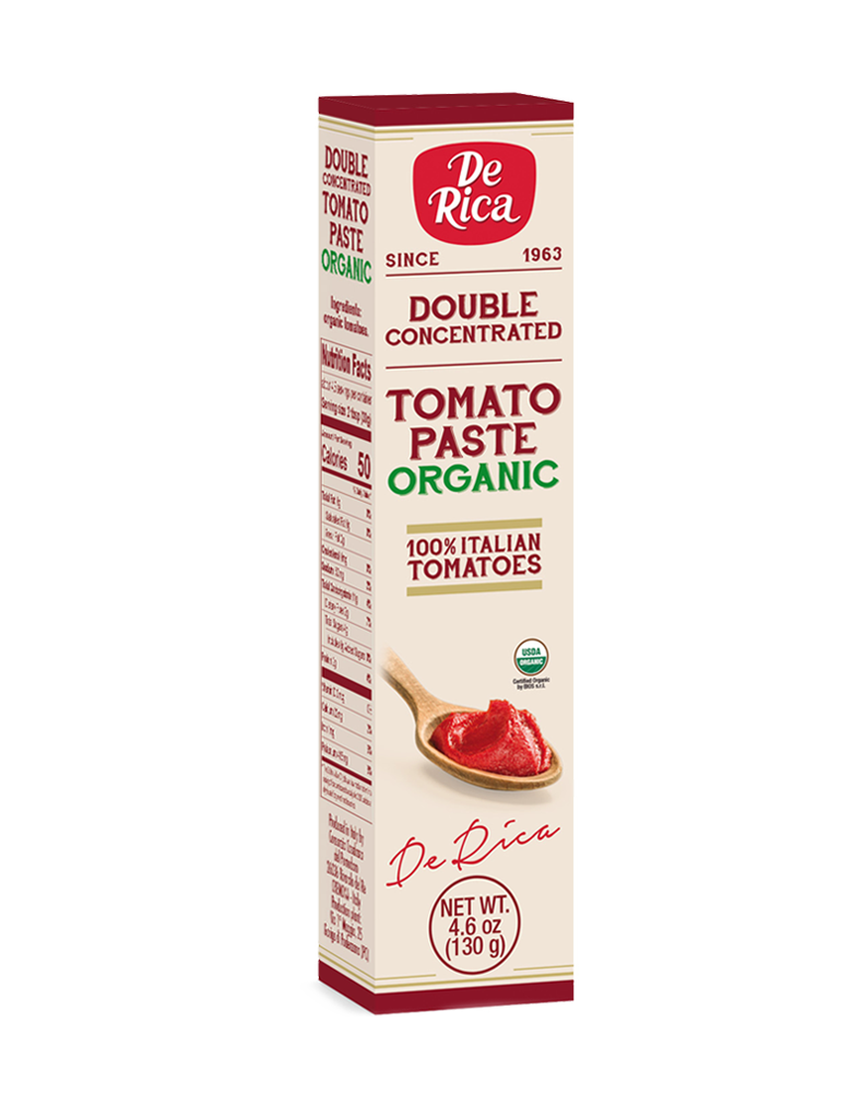 Double Concentrated Tomato Paste Organic