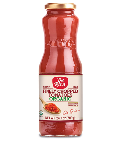 Finely Chopped Tomatoes Organic since 1963