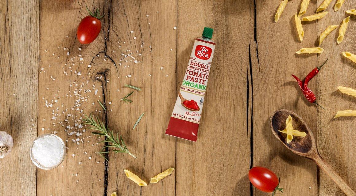 Double Concentrated Tomato Paste Organic 4 6 Oz De Rica